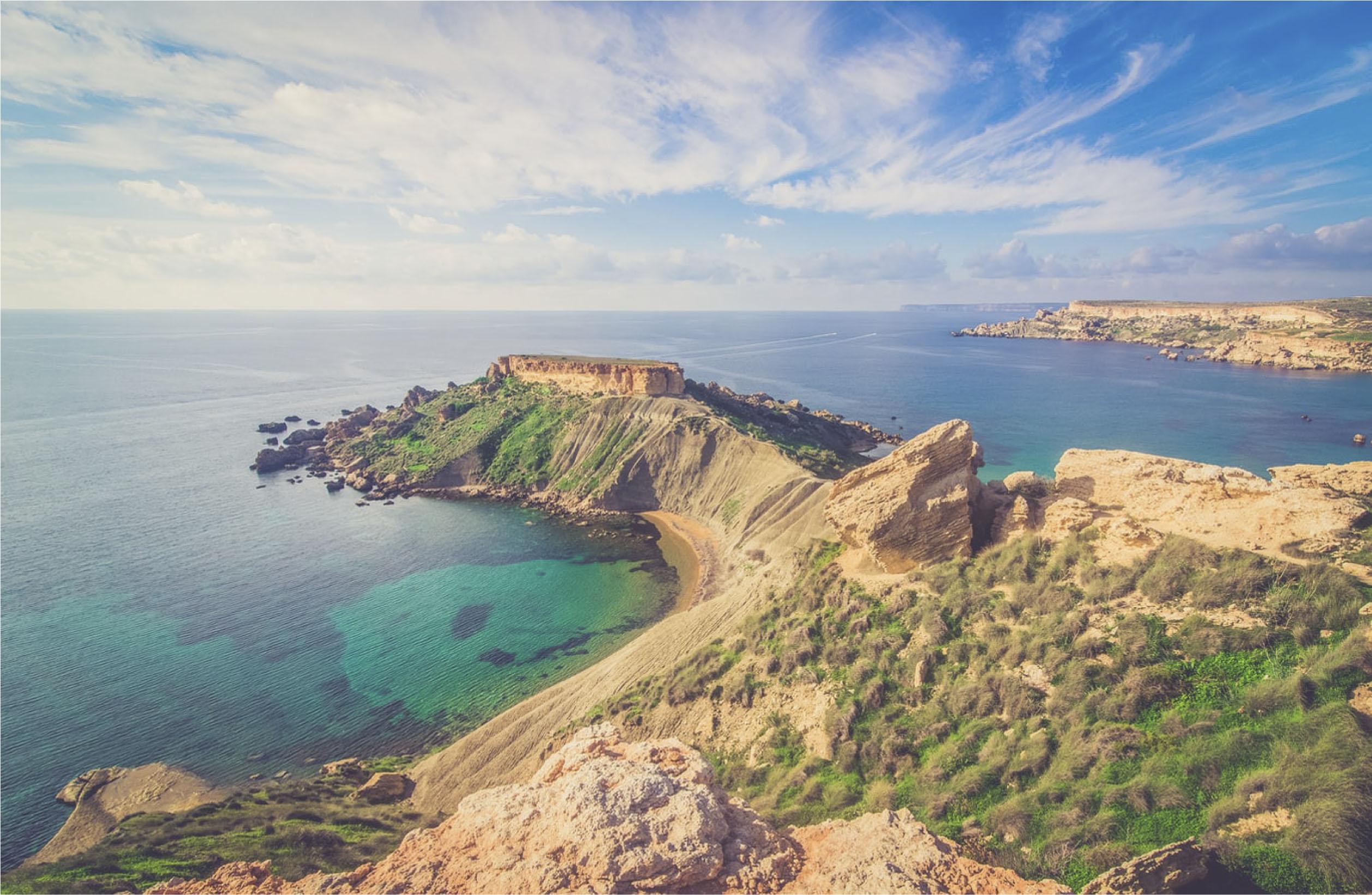 Malta - Northern Island Views