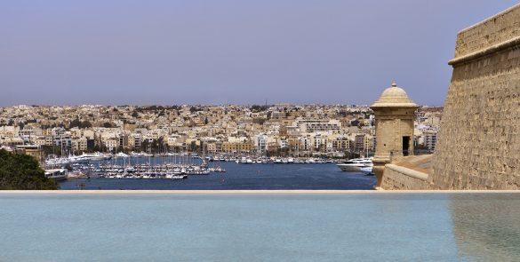 Bastion Pool at The Phoenicia Malta