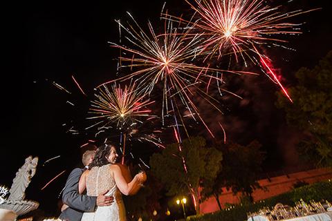 Phoenicia Weddings - Fireworks