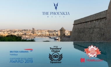 Awards for The Phoenicia Malta