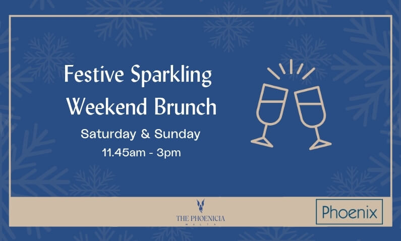 Festive Sparkling Brunch at The Phoenicia Malta