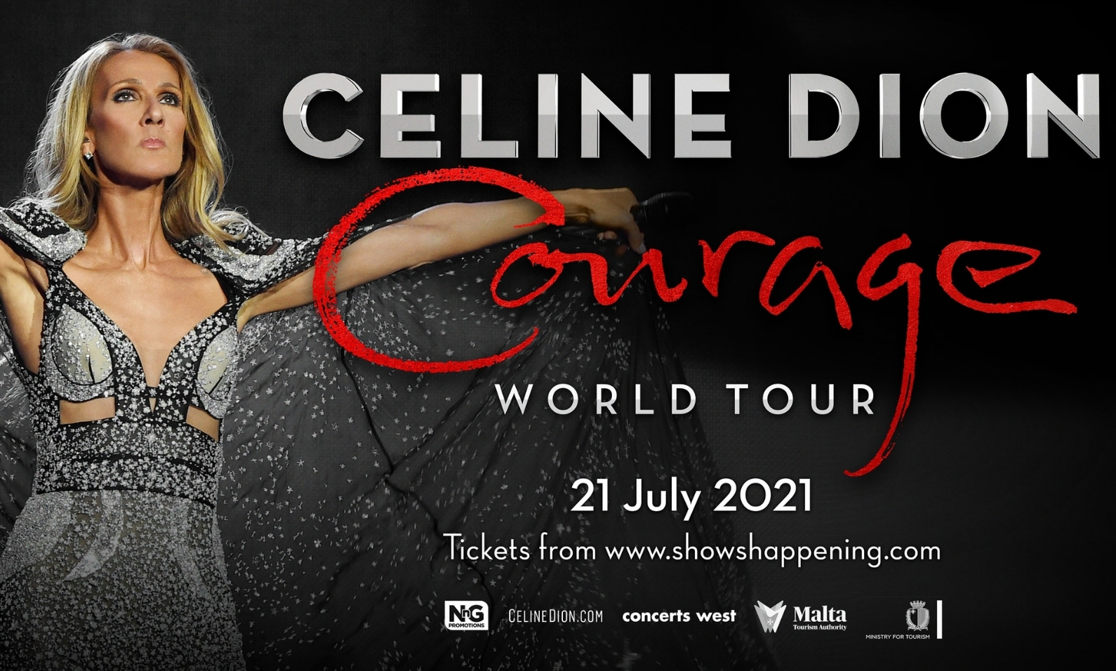 Celine Dione Courage Tour