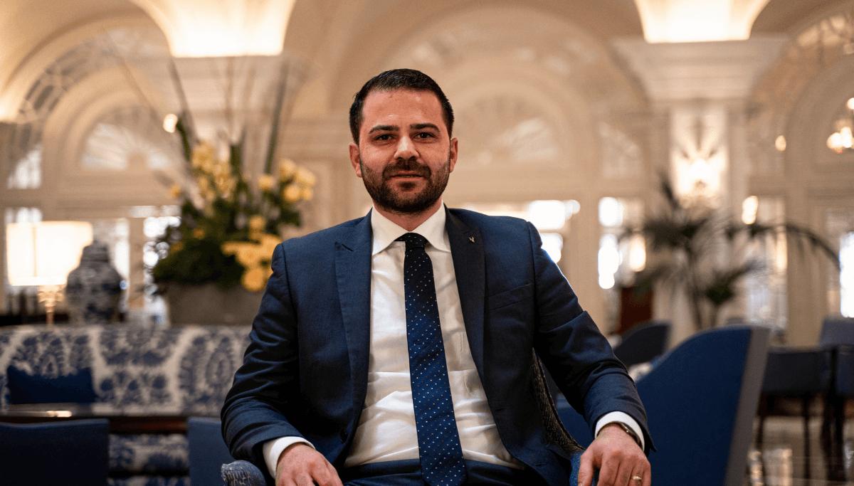 The Phoenicia Malta Hotel Manager Silvan Camilleri