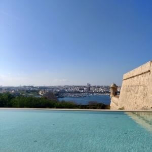 Bastion Pool at The Phoenicia Malta