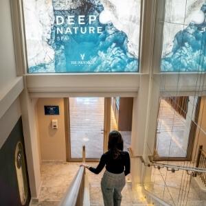 Deep Nature Spa Entrance