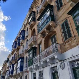 Valletta Balconies - Malta