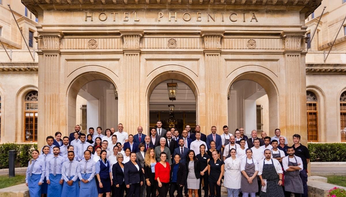 The Phoenicia Malta Team