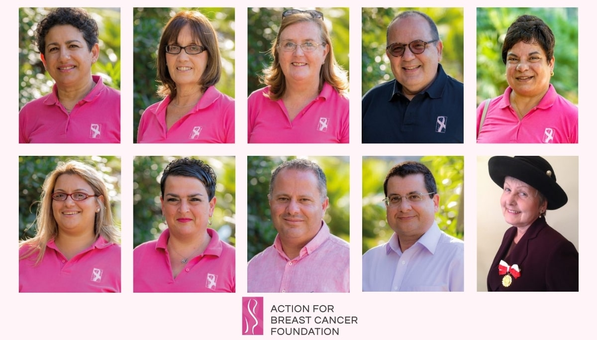 Action For Breast Cancer Foundation Malta - Team Members