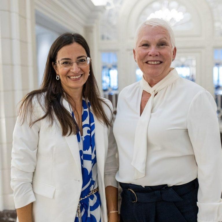 Stephanie Borg & Robyn Pratt at The Phoenicia Malta