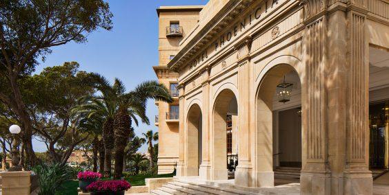 The Phoenicia Malta Facade