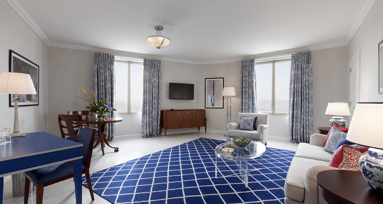 Harbour Suite Lounge Area