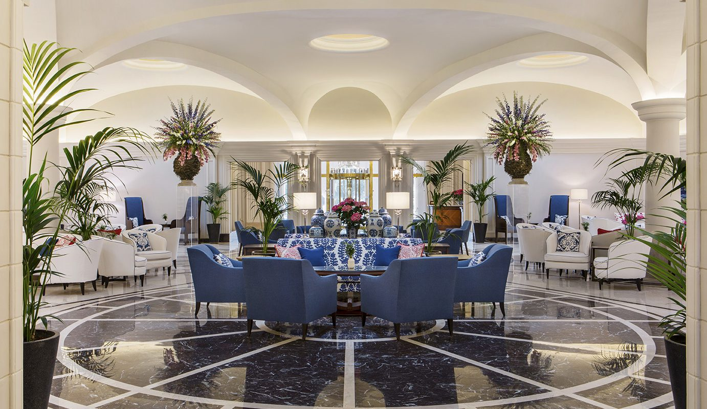 Palm Court Lounge at The Phoenicia Malta