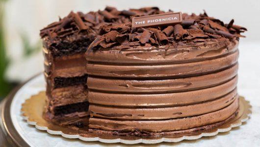he Phoenicia Chocolate Cake